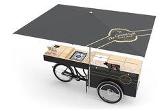 フード・バイク - スナック・スタンド - 貨物セールス・バイク| ポール&エーンストリートの食品ソリューション
