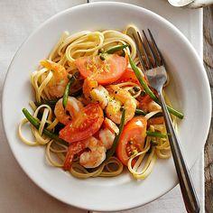 Shrimp and Tomato Piccata