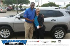 https://flic.kr/p/GpcZXg | Congratulations Loycie on your #Jeep #Cherokee from Willard Jordan at Waxahachie Dodge Chrysler Jeep! | deliverymaxx.com/DealerReviews.aspx?DealerCode=F068