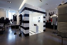 Pop up Shop | Retail Design | Nike x colette: The Away Project Retail Space. Limited time pop-up store. Fashion Store Design, Restaurant, Pop Up Shops, Retail Space, Retail Design, Visual Merchandising, Interior Architecture, Shopping, Retail Fixtures