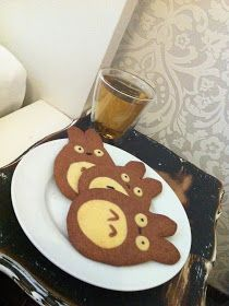 Creative heart: Totoro Cookies #food #recipes # totoro
