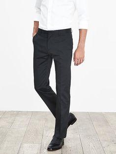 Banana Republic Slim Fit Aiden Chino Men s Khaki Pants Size 32 X 33