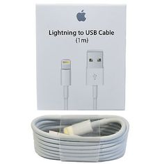 OEM Original Genuine Apple iPhone 7 6S Plus iPhone 5S Lightning Charger Cable 1M | eBay  sc 1 st  Pinterest & OEM Original Genuine Apple iPhone 6S Plus iPhone 5S Lightning ... azcodes.com