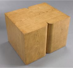 dwell studios CURTIS | MODERN SIDE TABLE | FRENCH OAK