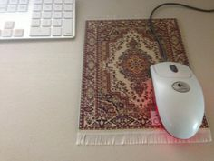 Indian carpet for your PC mouse