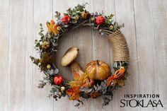Diy Wreath, Wreaths, Hello Autumn, Handmade Decorations, Ikebana, Floral Wreath, Fall, Home Decor, Summer