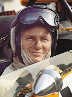 Bruce McLaren, founder on McLaren racing