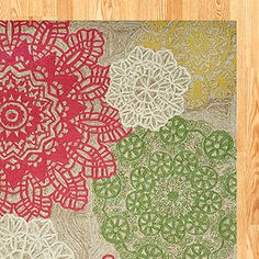 Love this rug for my craft room. The punch of color is just right to bring the inspiration I am looking for.