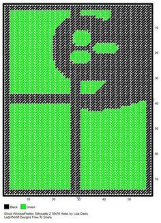 Ghost Window Peeker Silhouette 2 by Lisa Davis Halloween Canvas, Halloween Prints, Halloween Patterns, Halloween Ghosts, Halloween Projects, Plastic Canvas Crafts, Plastic Canvas Patterns, Cross Stitch Bookmarks, Cross Stitch Patterns