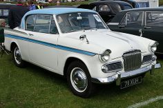 Vintage Cars Sunbeam Rapier - The very first plastic model I ever built was of one of these, back in too! Classic Cars British, British Sports Cars, Old Classic Cars, Classic Auto, Motor Scooters, Motor Car, Automobile, Bmw Girl, Vintage Trends