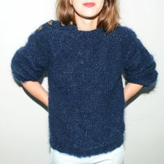 Sailor Knit Knit / tricoter un pull / knitting kit sweater / tricot alice hammer