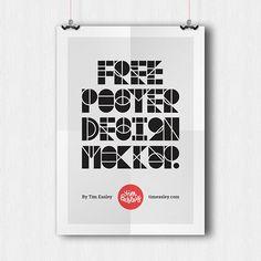 15개 무료 포스터 디자인 템플릿 - 열정 야매자료실
