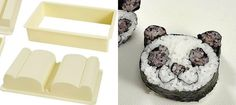 This Awesome Kit Pops Out Adorable Panda-Shaped Sushi Rolls  Foodbeast