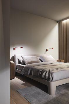 WINGER bed - Meridiani - salone del mobile 2015 - design and art direction Andrea Parisio