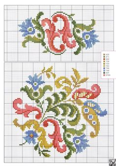 ru / Foto # 13 – In 26 – logopedd - Kreuzstich Cross Stitch Letters, Cross Stitch Borders, Cross Stitch Flowers, Cross Stitch Charts, Cross Stitch Designs, Cross Stitching, Cross Stitch Embroidery, Embroidery Patterns, Hand Embroidery