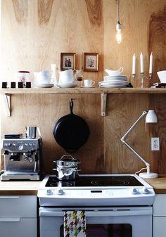 Wood + White Kitchens