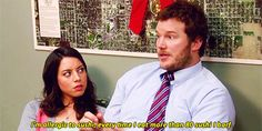 Pin for Later: 17 Times April Ludgate and Andy Dwyer Are the Ultimate in Relationship Goals When They Get Serious About Health Concerns