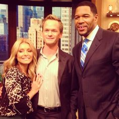 Neil Patrick Harris on Morning Tv Shows, Morning Show, Neil Patrick Harris, Cable Television, Kelly Ripa, Wentworth Miller, Actors, People, Movies