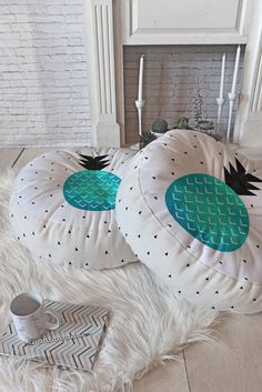 Elisabeth Fredriksson Turquoise Pineapple Floor Pillow Round DENY Designs Home Accessories Summer Deco, My New Room, My Room, Pineapple Room Decor, Pineapple Decorations, Pinapple Decor, Cute Room Decor, Do It Yourself Home, Home Decor Accessories