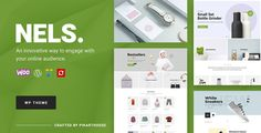 Buy Nels - An Exquisite eCommerce WordPress Theme by PikartHouse on ThemeForest. NELS is a Creative and Innovative eCommerce Wordpress Theme that is highly customizable, easy to use and fully respo. Wordpress Template, Wordpress Free, Popup, Ecommerce, Social Share Buttons, Browser Support, Men Store, Premium Wordpress Themes, Innovation