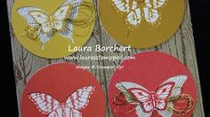stampin up papillon butterflies - YouTube