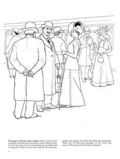 Passengers at the boat train, London