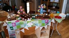 Macmillan cancer support coffee morning.
