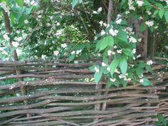 A fence in the Ethnographic Museum of Niznhy Novgorod, in Russia.