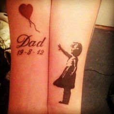 In memory tattoo