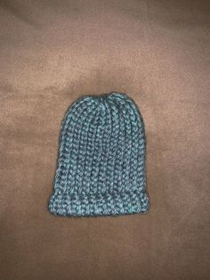 3cdbf41dc8c Handmade Baby Hat It is a grayish blue color Size is newborn Made in a  smoke free   pet free home