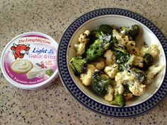 Cheesy Roasted Veggies with The Laughing Cow Light Garlic & Herb