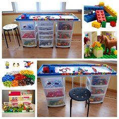 Wonderful Diy Your Own Lego Tables