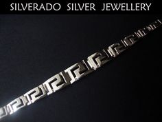 Sterling Silver 925 Ancient Greek Meander by SilveradoJewellery, €90.00