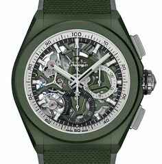 *Blog Update - Read iN!* #Zenith 44mm Defy 21 Urban Jungle🌴⌚️ Khaki Green Ceramic Case with Rubber & Cordura Strap!!🎉