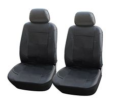 115301 Blackleather Like 2 Front Car Seat Covers Compatible to Jeep Wrangler Unlimited Wrangler Compass Patriot 20172007 >>> Click on the image for additional details.Note:It is affiliate link to Amazon.