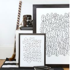 Repetition of simple patterns.  Nice!