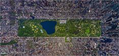 New York city from above by Sergey Semenov