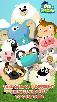 Dr. Panda's Hospital is ideal for kids ages 2 – 6 that are naturally curious about basic medical procedures and anatomy. #ComboApp #Choice