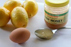 Egg white face mask -- great for nixing summer breakouts!