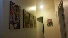 Comic hallway