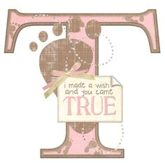 T Welcome Home Baby (Crazy 4 Monograms) Scrapbook Images, Scrapbook Titles, Alphabet Images, Alphabet And Numbers, Letter T, Letter Wall, Abc Letra, Cute Scrapbooks, Welcome Home Baby