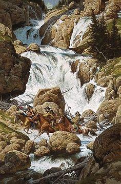 Roar of the Falls by Frank McCarthy