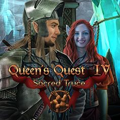 A mysterious power is trying to destroy the relationship between humans and elves and start a conflict. What will happen to this legendary world when the covenant of magic between humans, elves, dwarves, goblins and hobbits ends? Find out in the exhilarating game: Queen's Quest 4: Sacred True #hiddenobjectgame #videogame #game #wildtangent #eleves