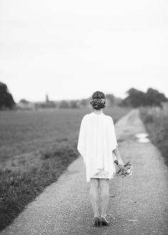 © Andrea Kiesendahl  Bride, beautiful Hair, Styling, Black and White
