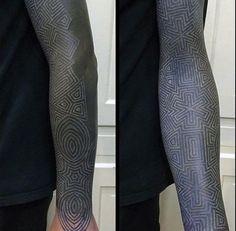 30 Extreme Blackout Tattoos Girly Design Blog Tattoos
