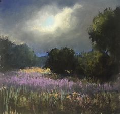 Distant Thunder by Bethany Fields Pastel ~  x