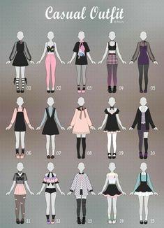Manga Clothes, Drawing Anime Clothes, Barbie Clothes, Fashion Design Drawings, Fashion Sketches, Drawing Fashion, Kleidung Design, Clothing Sketches, Illustration Mode