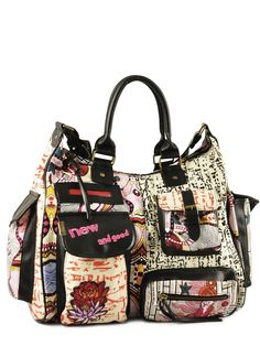desigual A pocket for everything. How wonderful is that