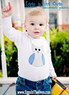 Whooooooo is the cutest? Owl Onesie!
