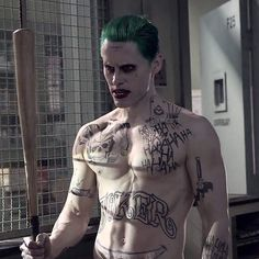 """((Open)) The Joker twirled the bat around in his hand. """"What do we have here?"""" He drawls, a cackle erupting from his throat. """"Oh, are you scared?"""""""